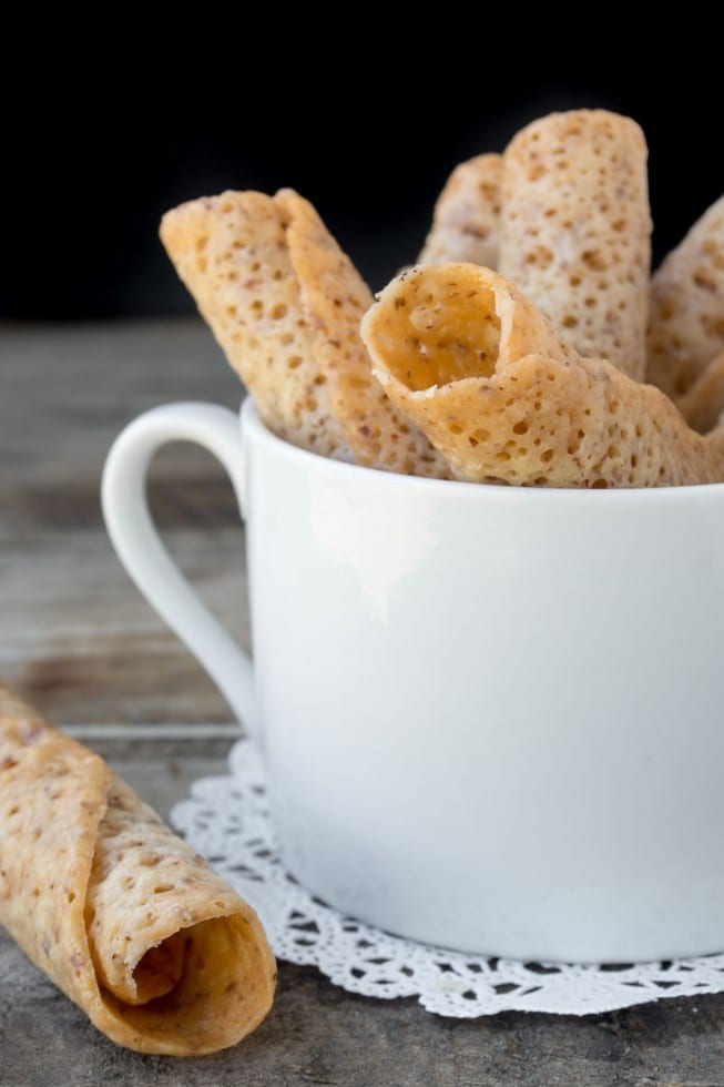 Reader's Recipes Almond Lace Wafers are a crisp, delicate cookie