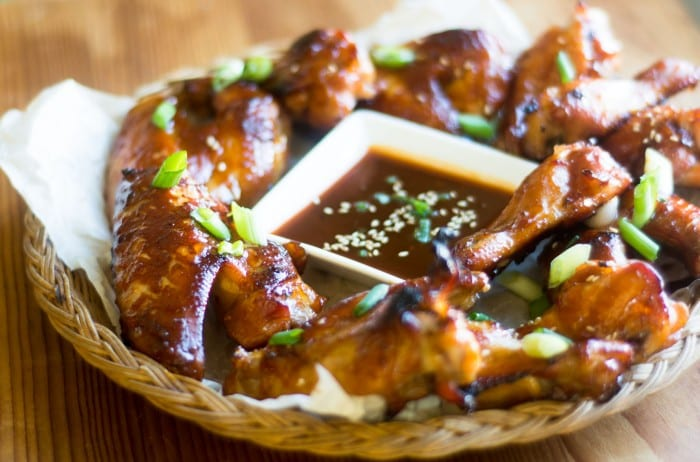 Mahogany Chicken Wings are an easy crowd pleasing appetizer for The Chinese New Year