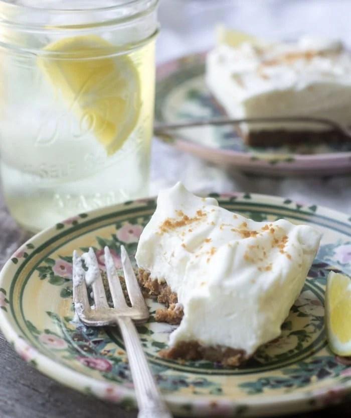 Lemon Crunch Bars are an old fashioned no-bake dessert