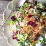 Skinny Broccoli Salad, an American classic made healthier!