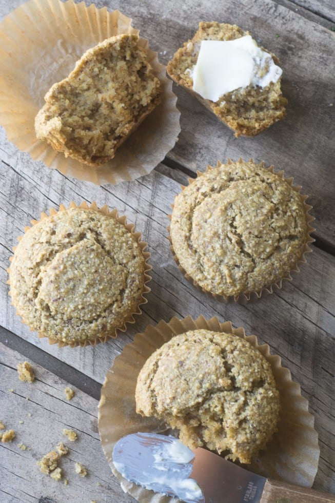 Healthy and easy Gluten Free Vegan Blender Muffin recipe | theviewfromgreatisland
