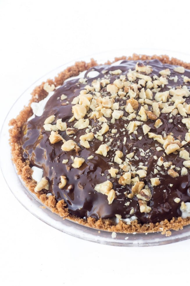 Drumstick Ice Cream Pie recipe | theviewfromgreatisland.com