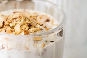 Toasted Almond Milkshake | theviewfromgreatisland.com
