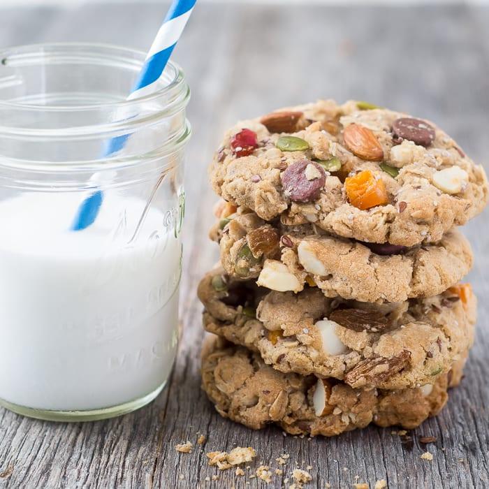 Back to School Breakfast Cookies ~ theviewfromgreatisland.com