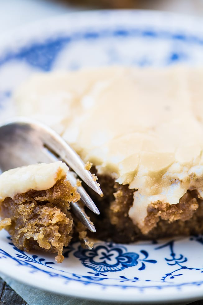 Maple Frosted Apple Blondies, an intensely sweet homage to Fall! ~ theviewfromgreatisland.com