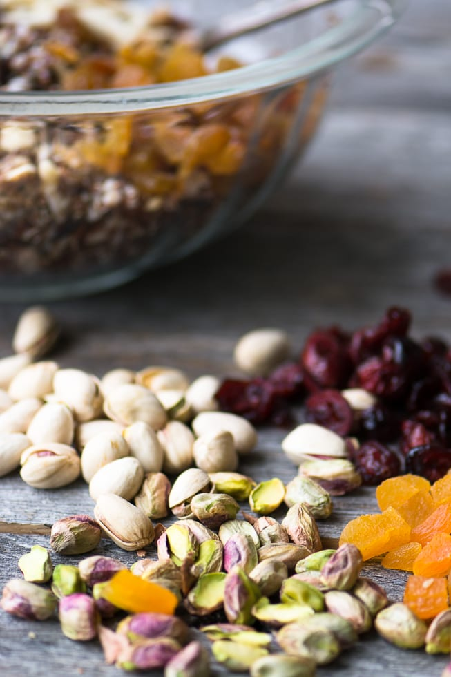Ancient Grain salad with farro, wild rice, and quinoa ~ theviewfromgreatisland.com