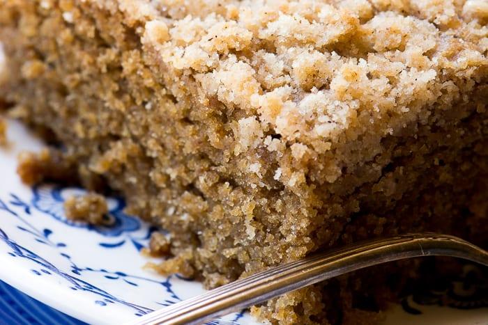 Gingerbread Crumb Cake ~ theviewfromgreatisland.com