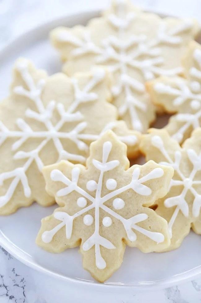 Snowflake Sugar Cookies from Handle the Heat