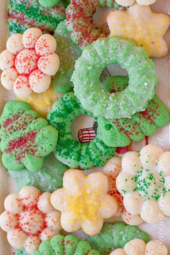 Spritz Cookies from Saving Room for Dessert