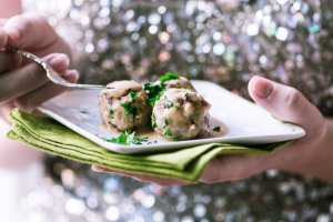 Elegant and delicious Swedish Cocktail Meatballs is the ultimate holiday appetizer! ~ theviewfromgreatisland.com