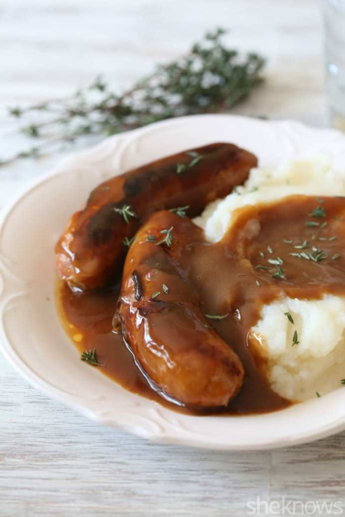 Guinness Gravy from Oh She Knows