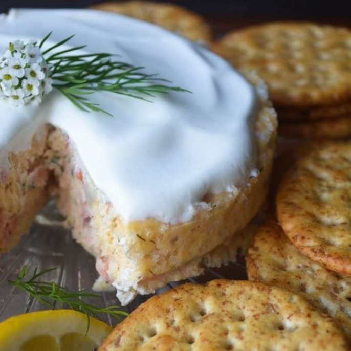 savory smoked salmon cheesecake from The View from Great Island