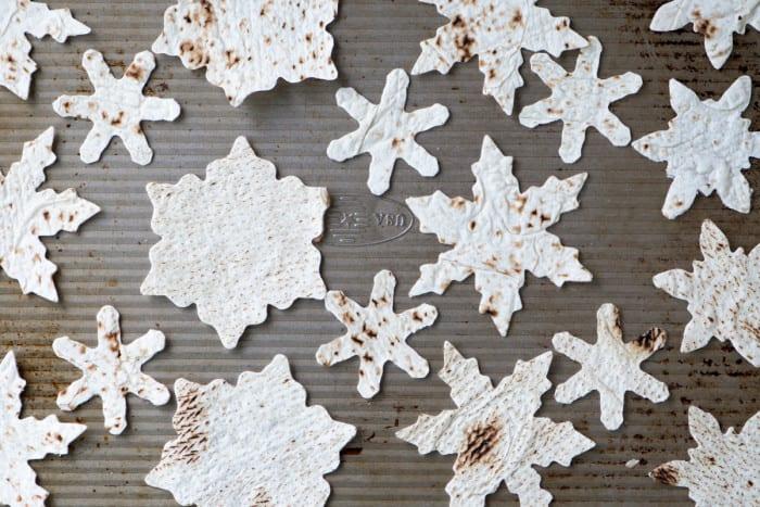 Snowflake Pita Chips