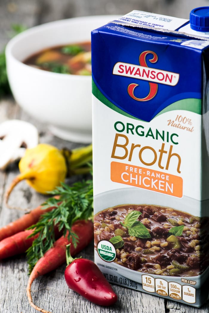 Winter Weight Loss Soup Made with Swanson Broth ~ theviewfromgreatisland.com