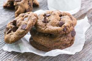 Flourless Pecan Choclate Chip Cookies