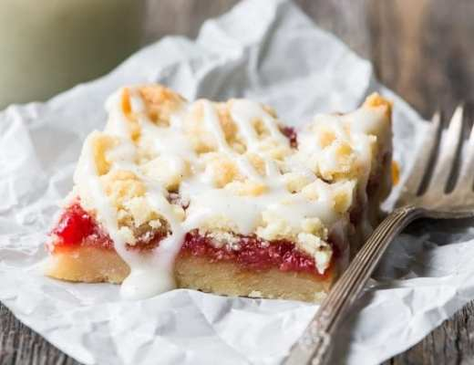 Blood Orange Crumble Bars ~ theviewfromgreatisland.com