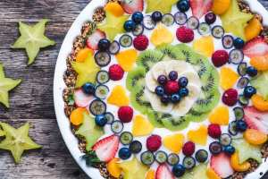 My Vegan Fruit and Yogurt Breakfast Tart makes a fun non-dairy breakfast treat for any occasion. Customize your healthy tart with whatever fruit's in season.