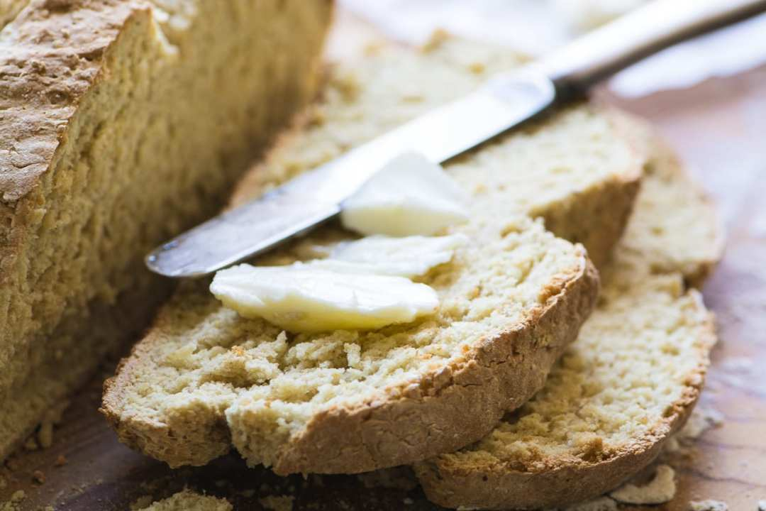 Irish Oatmeal Soda Bread ~ an authentic Irish quick bread made even more delicious with oat flour!