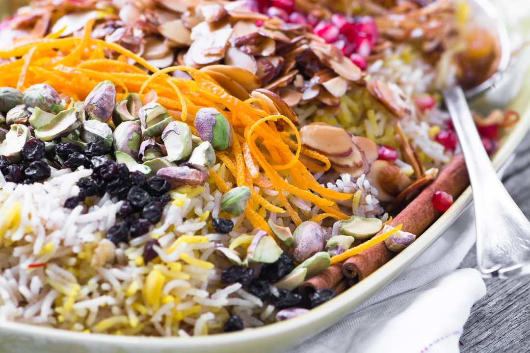 Fragrant Toasted Almond Rice Pilaf, perfect for any occasion!