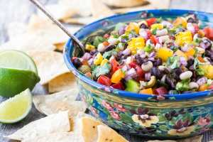 Cowboy Caviar ~ whether you call it Texas caviar, black bean salsa, black eyed pea salad, or Southwestern bean salad, this cross between a salsa and a salad is just plain GOOD!