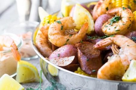 Classic Low Country Shrimp Boil