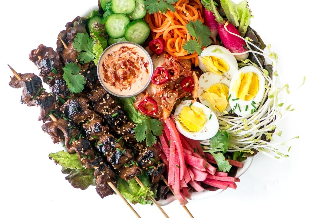 Korean Barbecue Salad