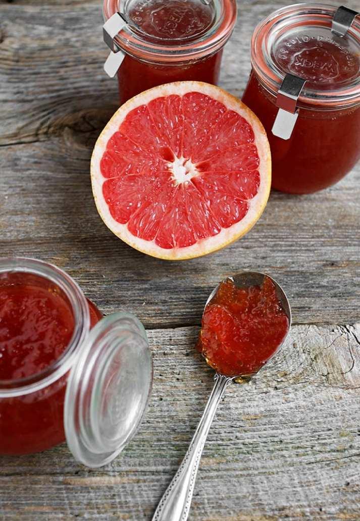The ULTIMATE Guide to Freezer Jam ~ small batch grapefruit jam
