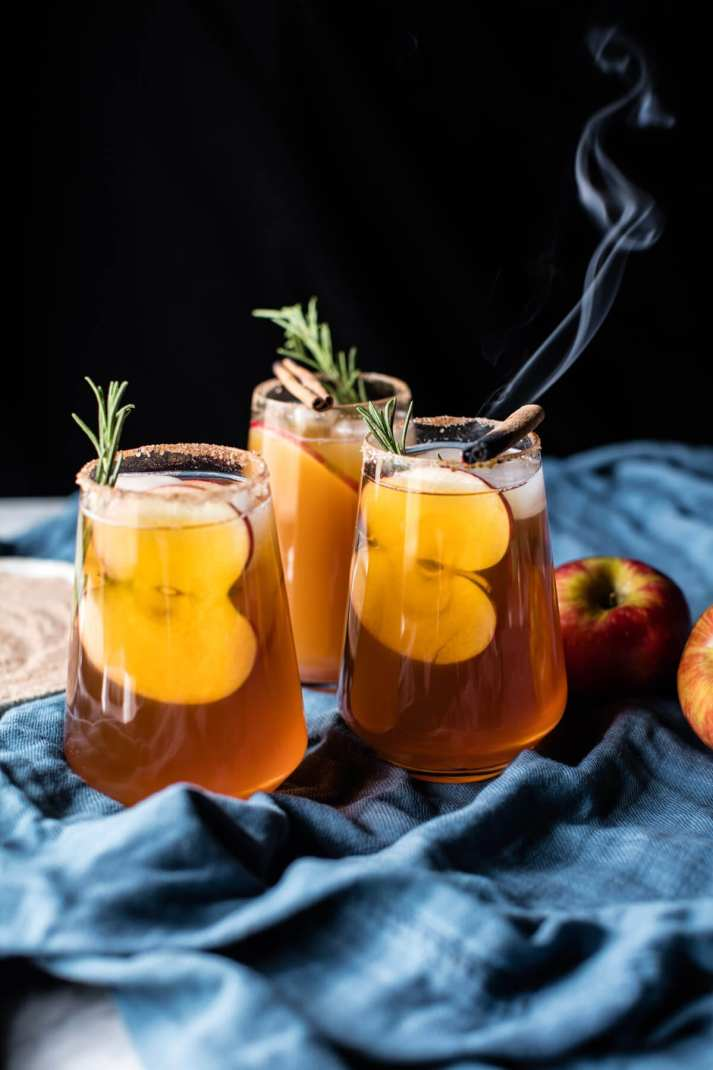 What to Drink Now ~ Fall cocktails are the BEST...think cranberry, maple, apple, pear, fig, pumpkin, woodsy herbs and smokey spices ~ check out this gorgeous Autumn inspired cocktail collection and get ready to discover your new favorite cozy sip...Half Baked Harvest