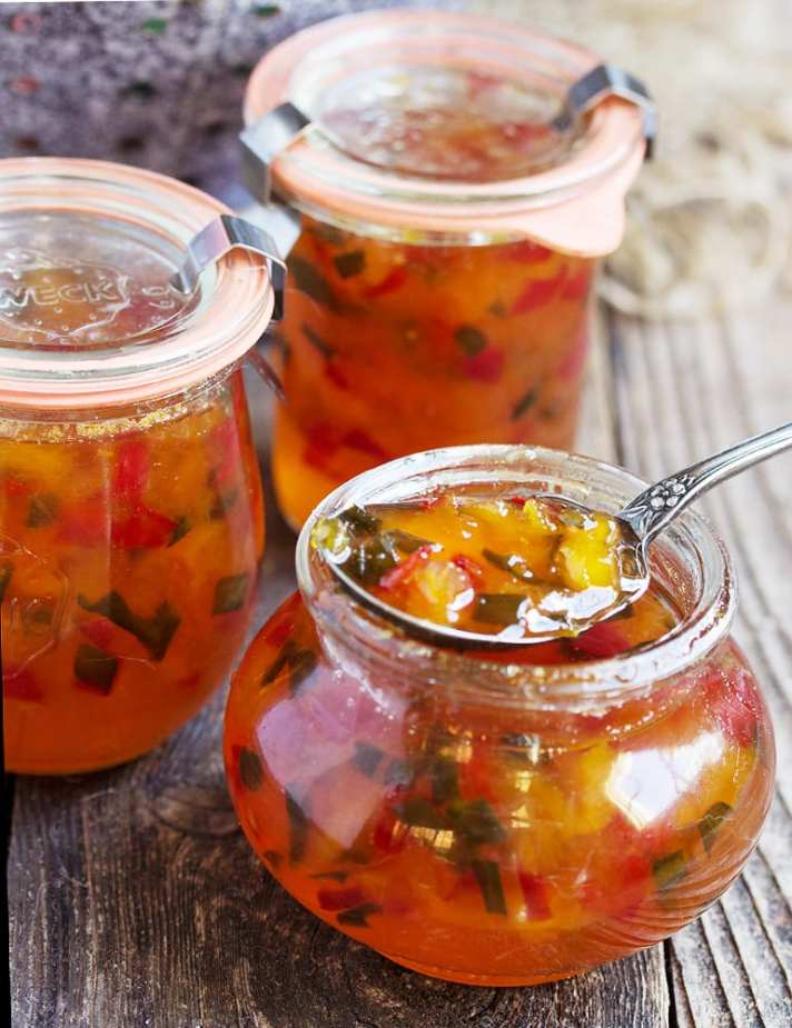 The ULTIMATE Guide to Freezer Jam ~ peach and pepper jam