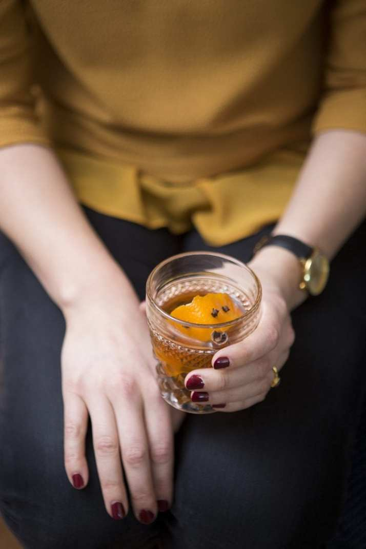 What to Drink Now ~ Fall cocktails are the BEST...think cranberry, maple, apple, pear, fig, pumpkin, woodsy herbs and smokey spices ~ check out this gorgeous Autumn inspired cocktail collection and get ready to discover your new favorite cozy sip...Camille Styles