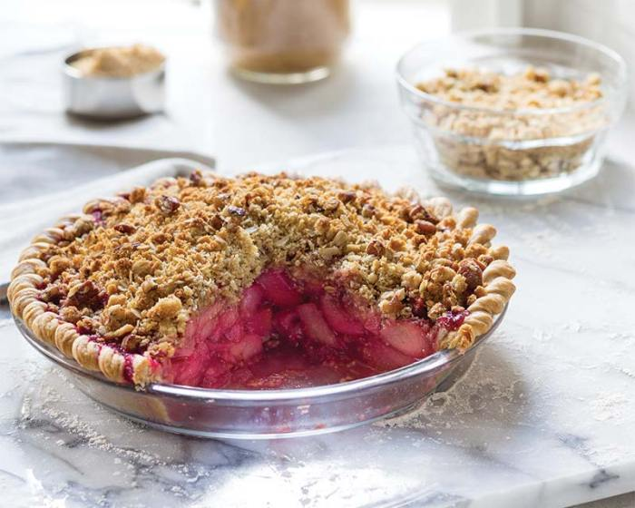 Blushing Pear Pie