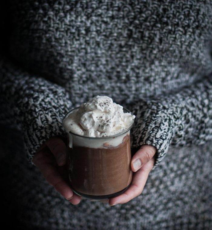 London Fog hot chocolate