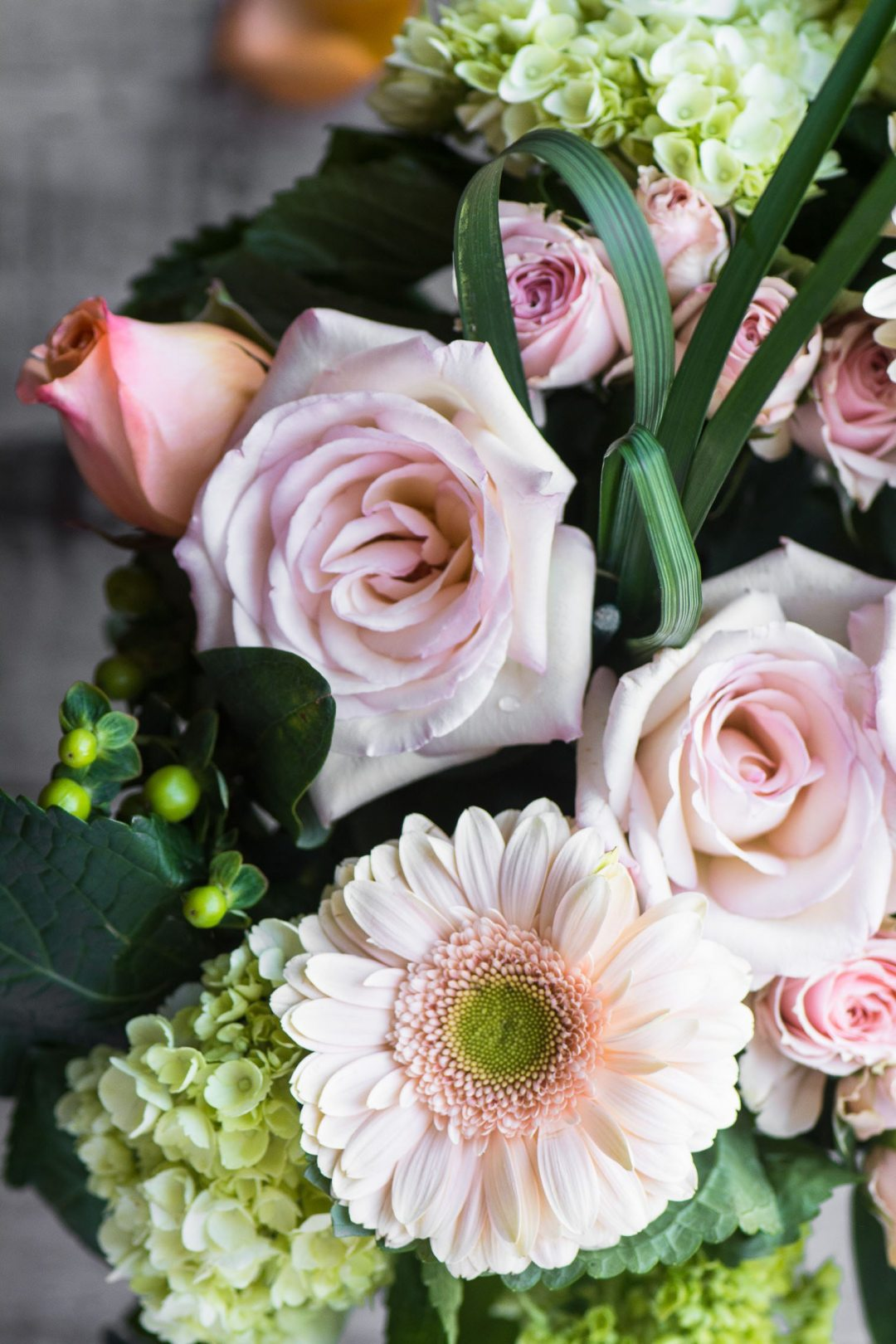 beautiful fresh cut flowers