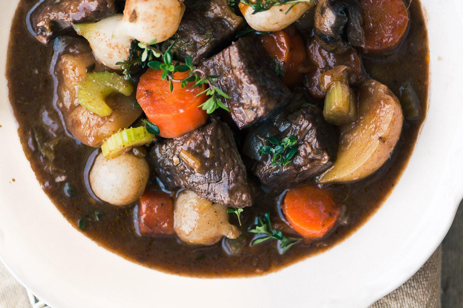 The Best Instant Pot Beef Bourguignon