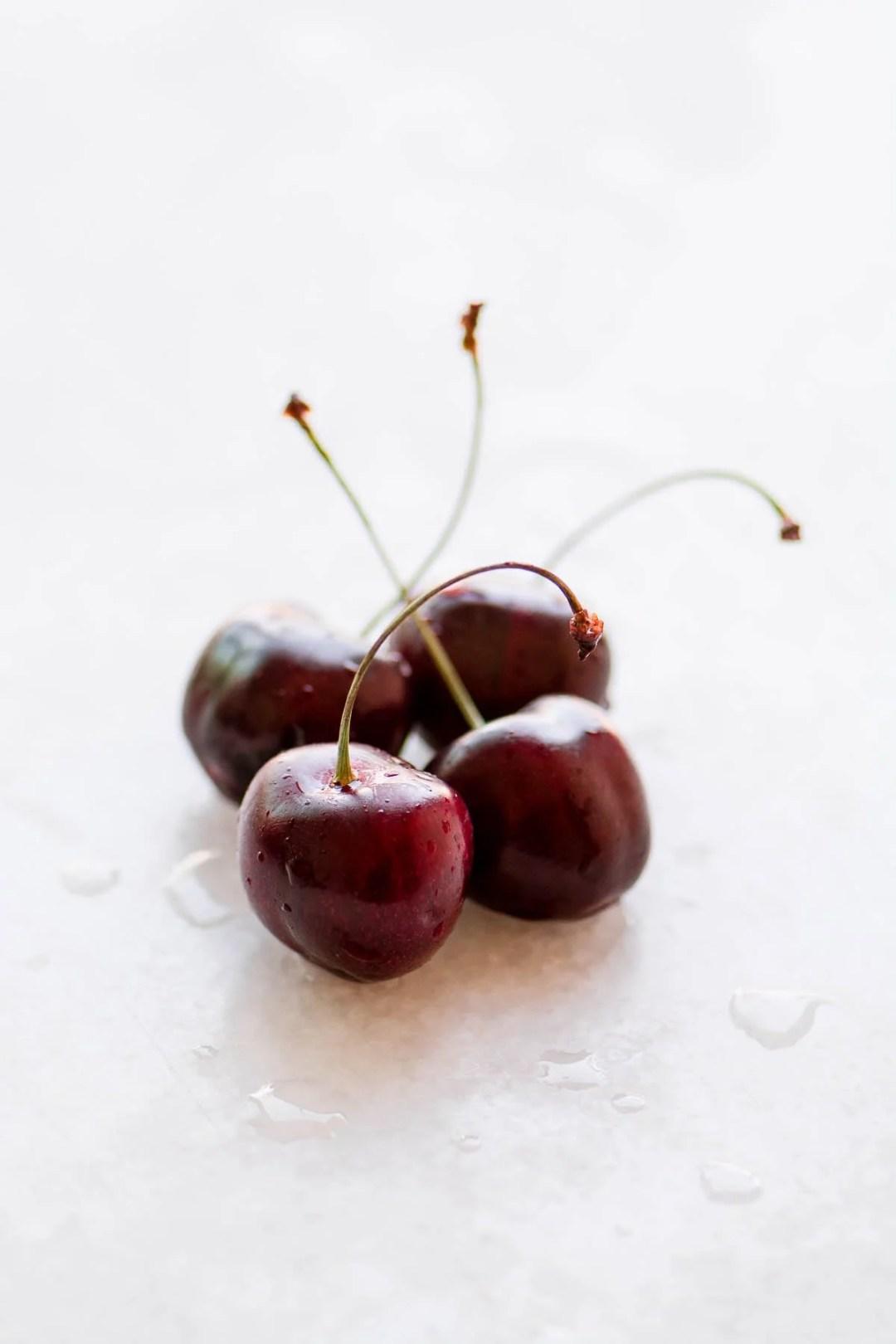 fresh cherries for whitefish with cherry salsa