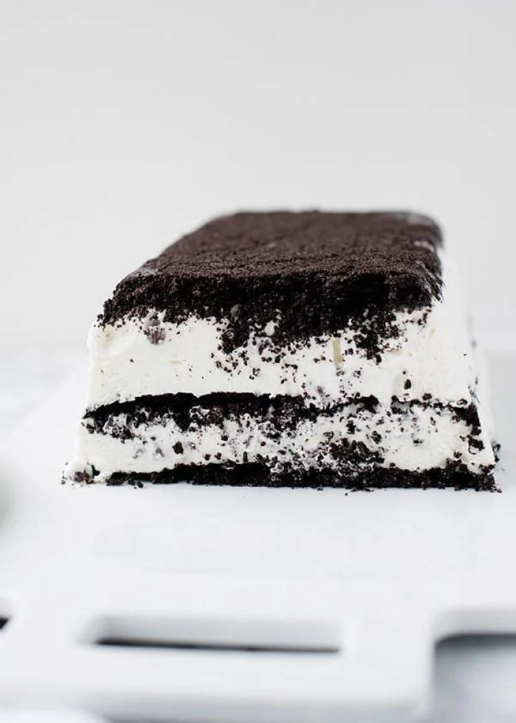 Summer's Best Icebox Cakes ~ cookies and cream icebox cake