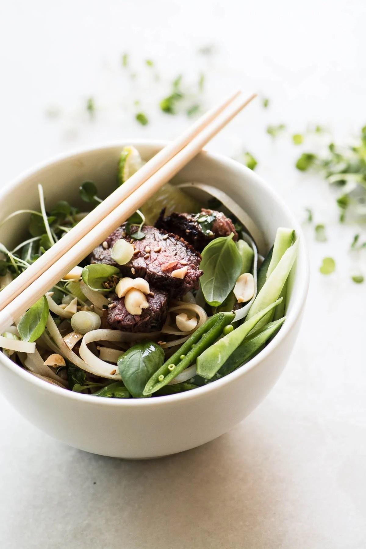 Steak Pad Thai Salad