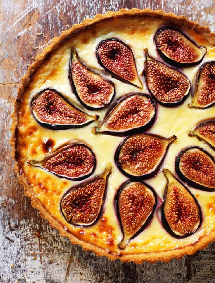 Fresh Fig Tart
