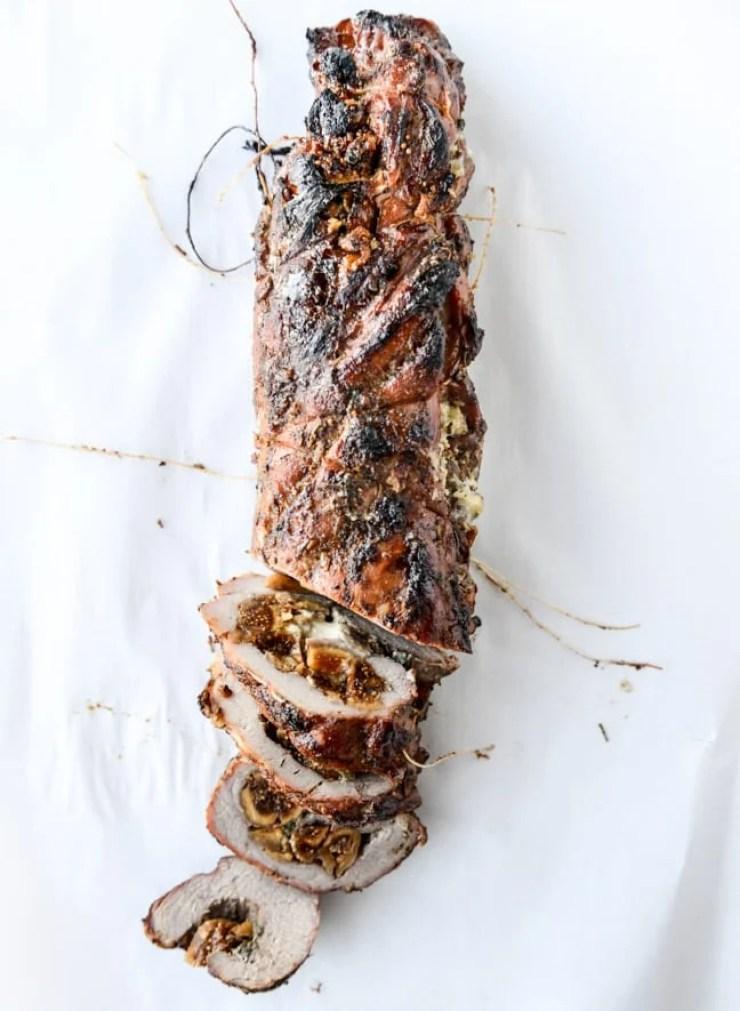 Fig Stuffed Pork Tenderloin
