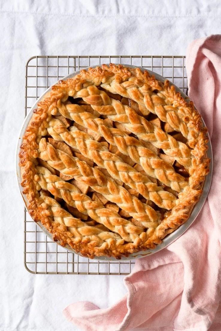 Chai Spiced Apple Pie