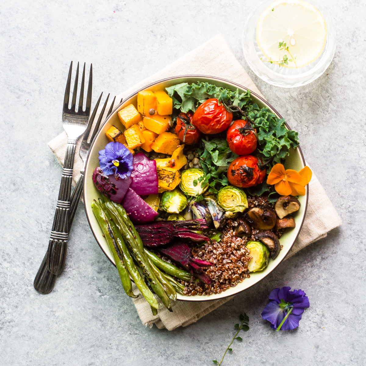 Roasted Veggie Winter Bliss Bowl and 15 other blissful recipes