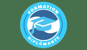 Logo formation diplômante