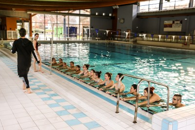 Photo cours aquagym piscine