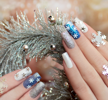 Holiday Nail Art With Oscar Nails Salon In Tyler