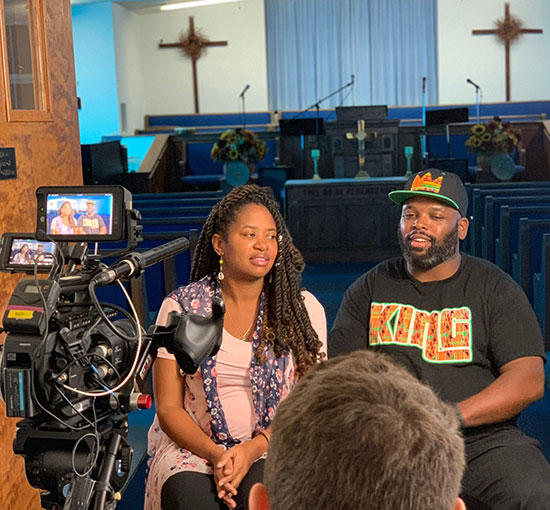 TVM Co-founders, Mahea and Mark Gaskins, interview.