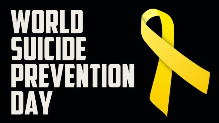 See The Signs, Save A Life On Suicide Prevention Day
