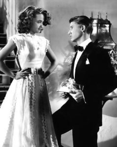 Jane Powell and Roddy MacDowell in HOLIDAY IN MEXICO
