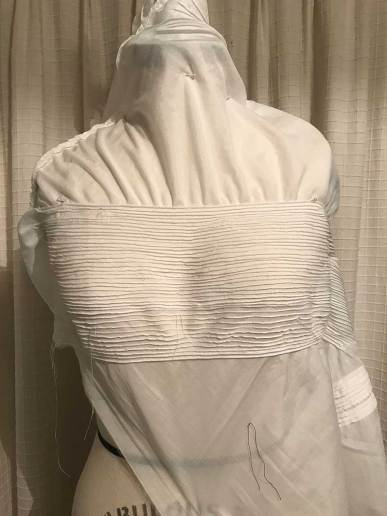 Horizontal Pin Tucks by The Vintage Couturiere