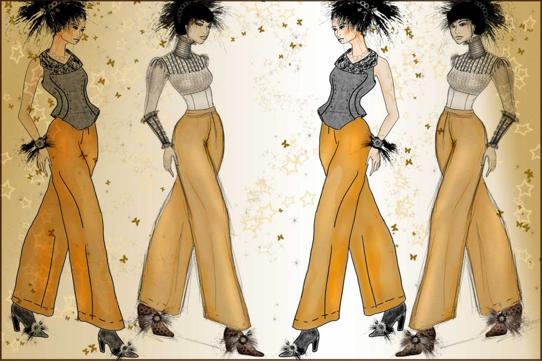 Vintage Inspired Fusion Fashion Designed by The Vintage Couturiere Olivia Torma