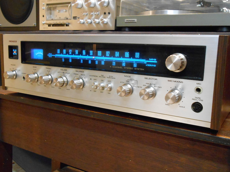 The Pioneer Prelude-4000A Vintage Receiver (1975-1976) | The Vintage
